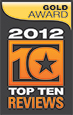 TopTen Reviews 2012  - Silver Bullet Cutters